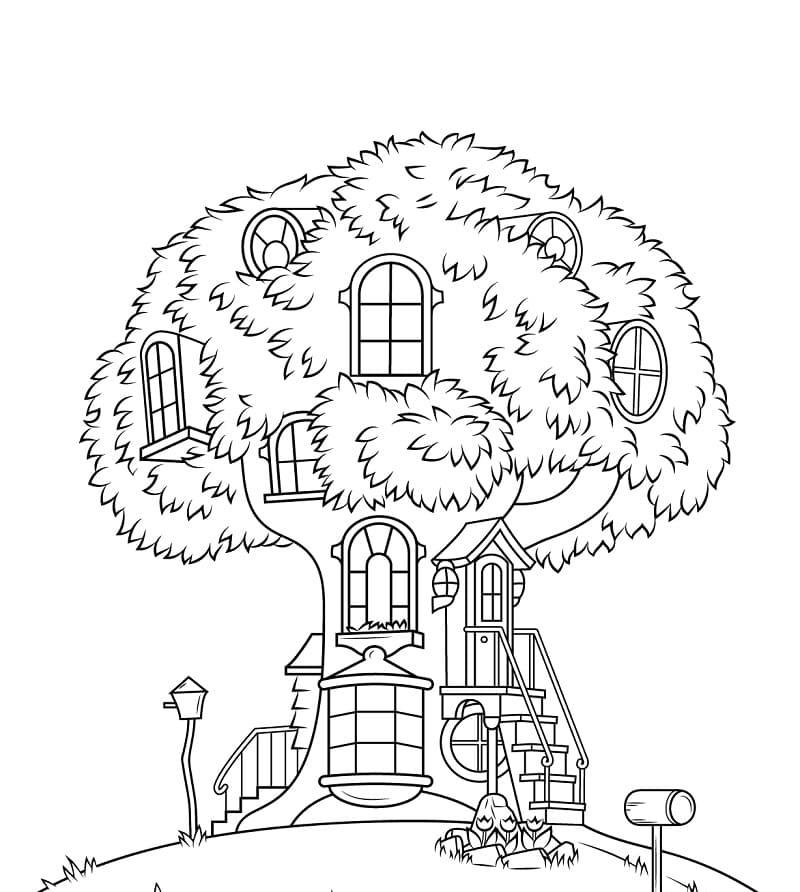 Berenstain Bears Treehouse