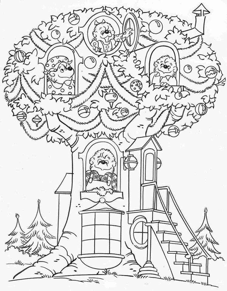 Berenstain Bears in Treehouse