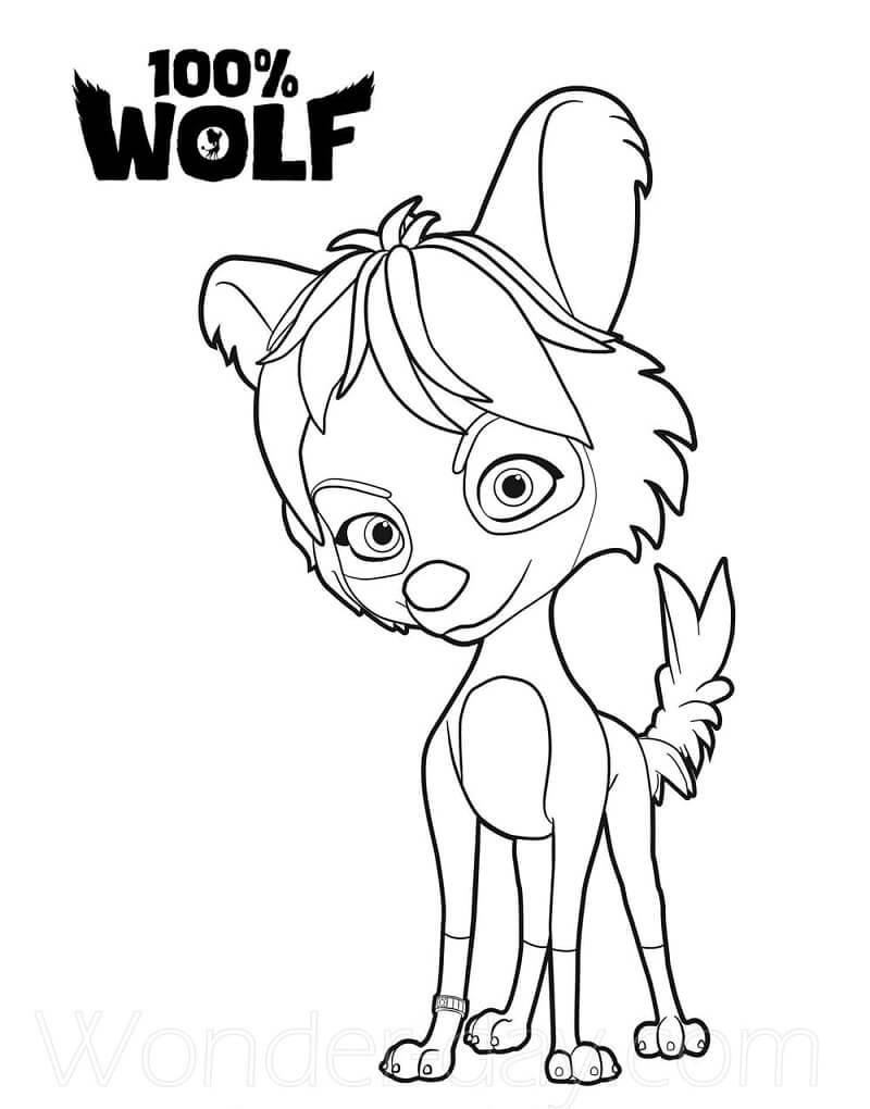 Betty 100% Wolf