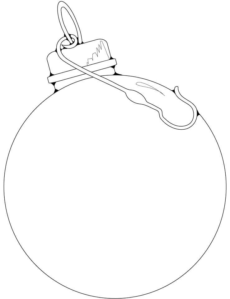 Blank Ornament