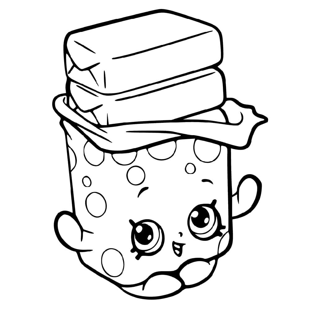 Bobby Bubble Gum Shopkin