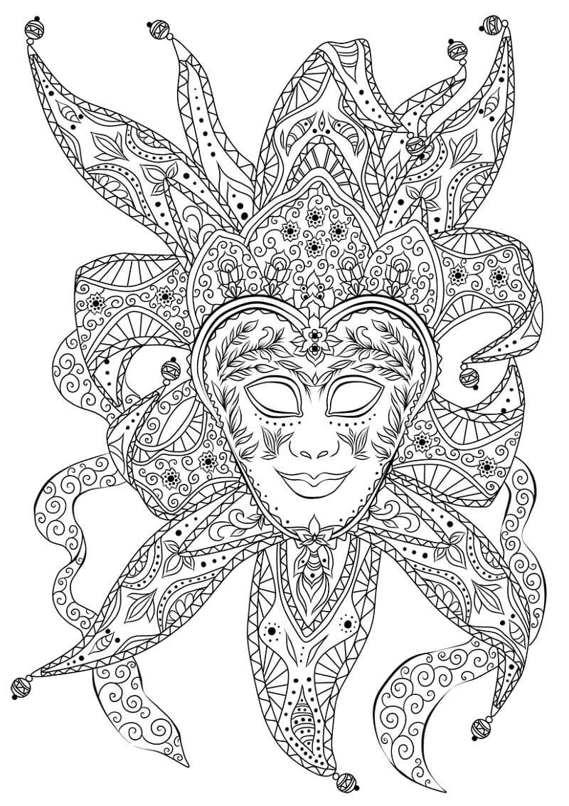 Bouffon Venetian Mask