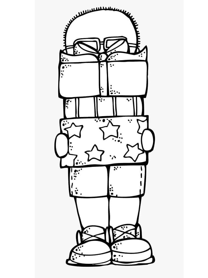 Boy and Gifts Melonheadz