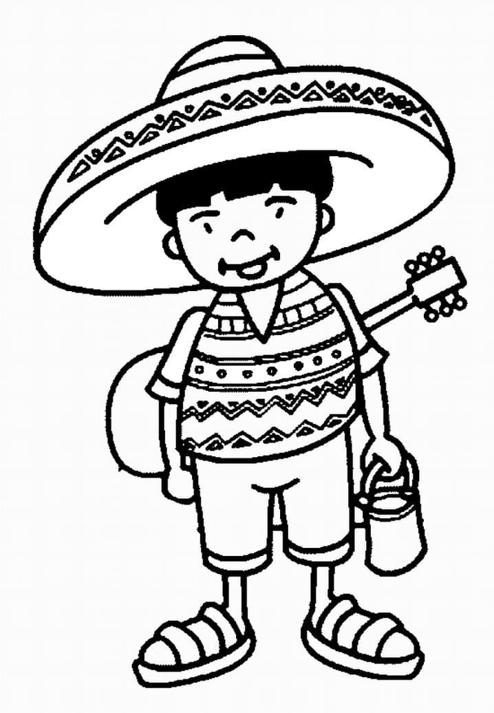 Boy with Sombrero