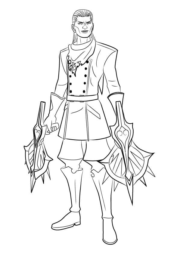 Braig from Kingdom Hearts