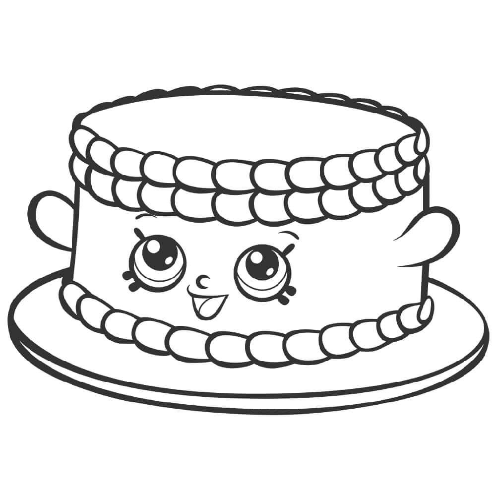 Bree Birthday Cake Shopkin