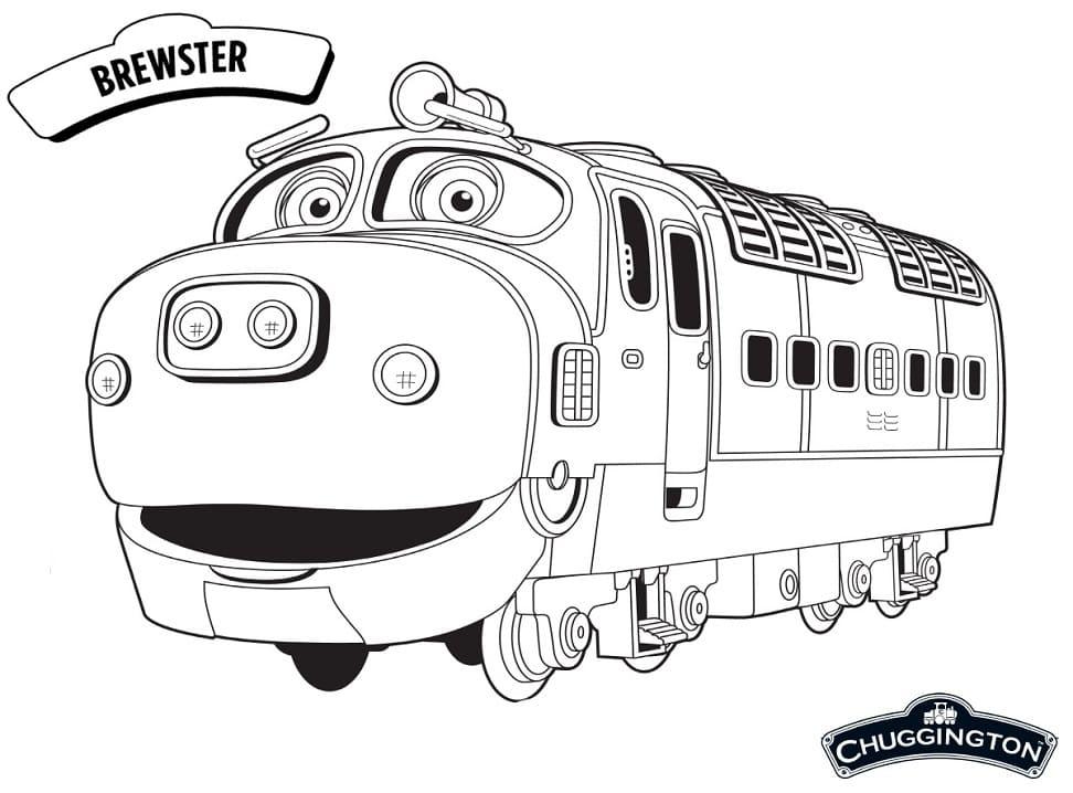 Brewster from Chuggington
