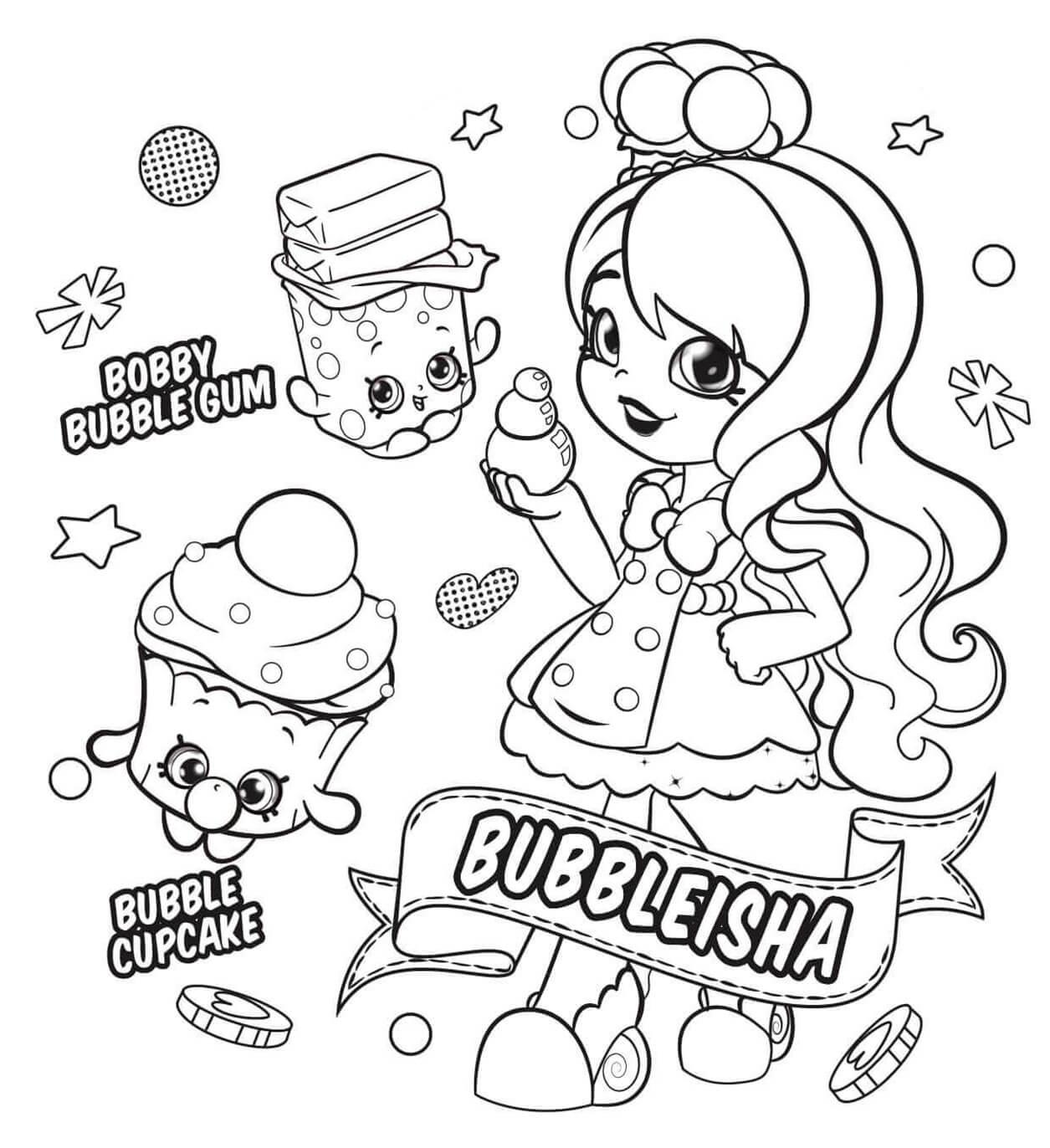BubbleIsha Shopkin