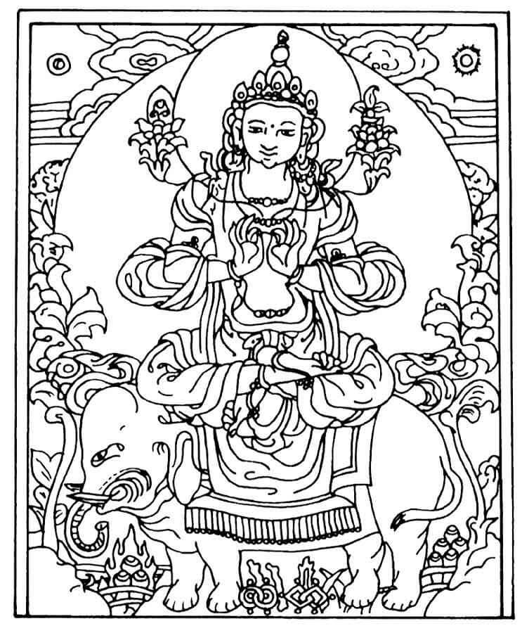 Buddha Hindu God