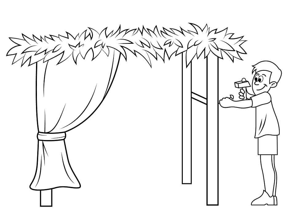 Building a Sukkah for Sukkot