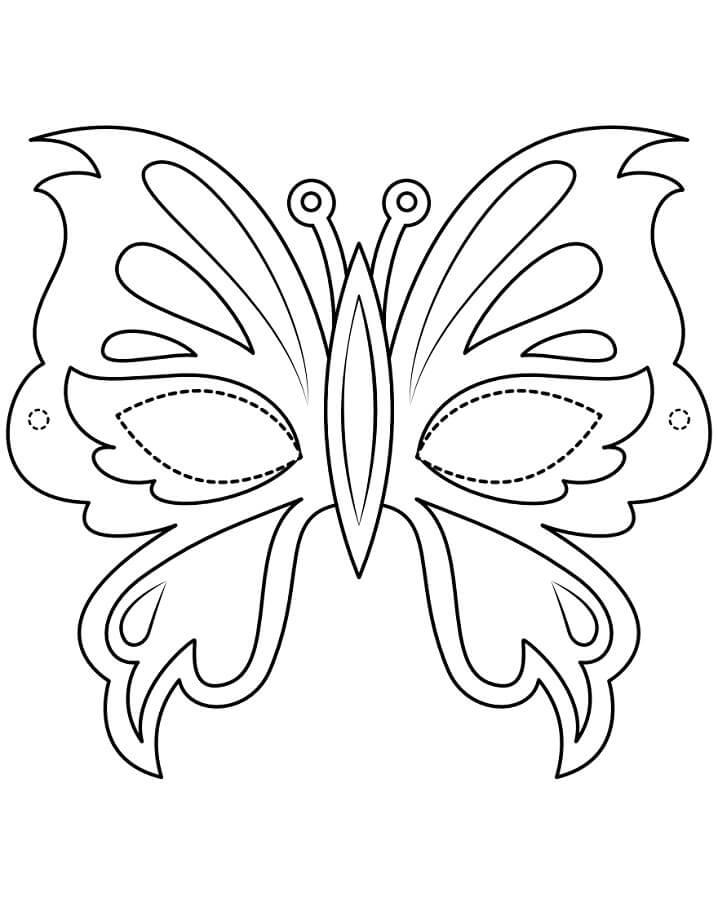 Butterfly Mask Mardi Gras