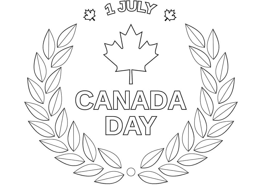 Canada Day Emblem