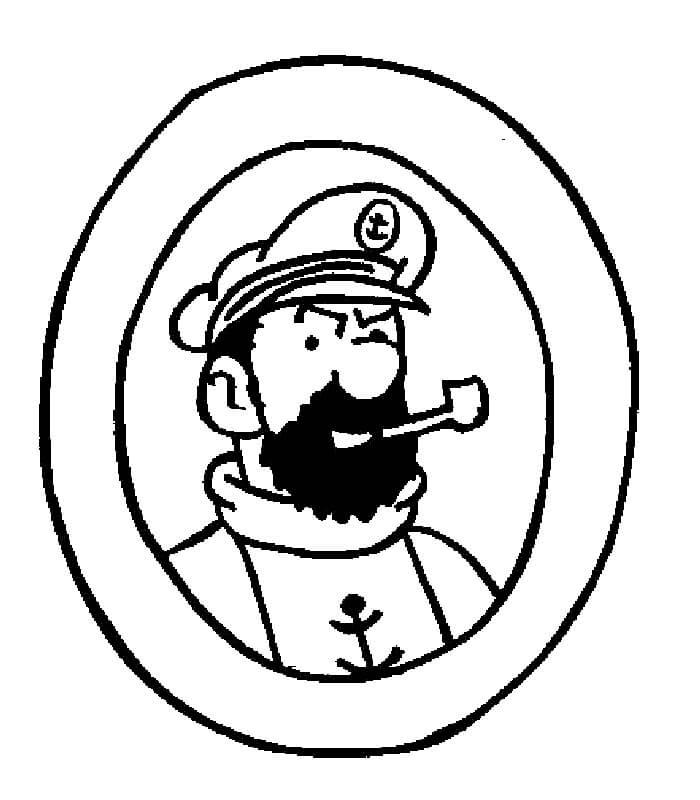 Captain Haddock from Tintin