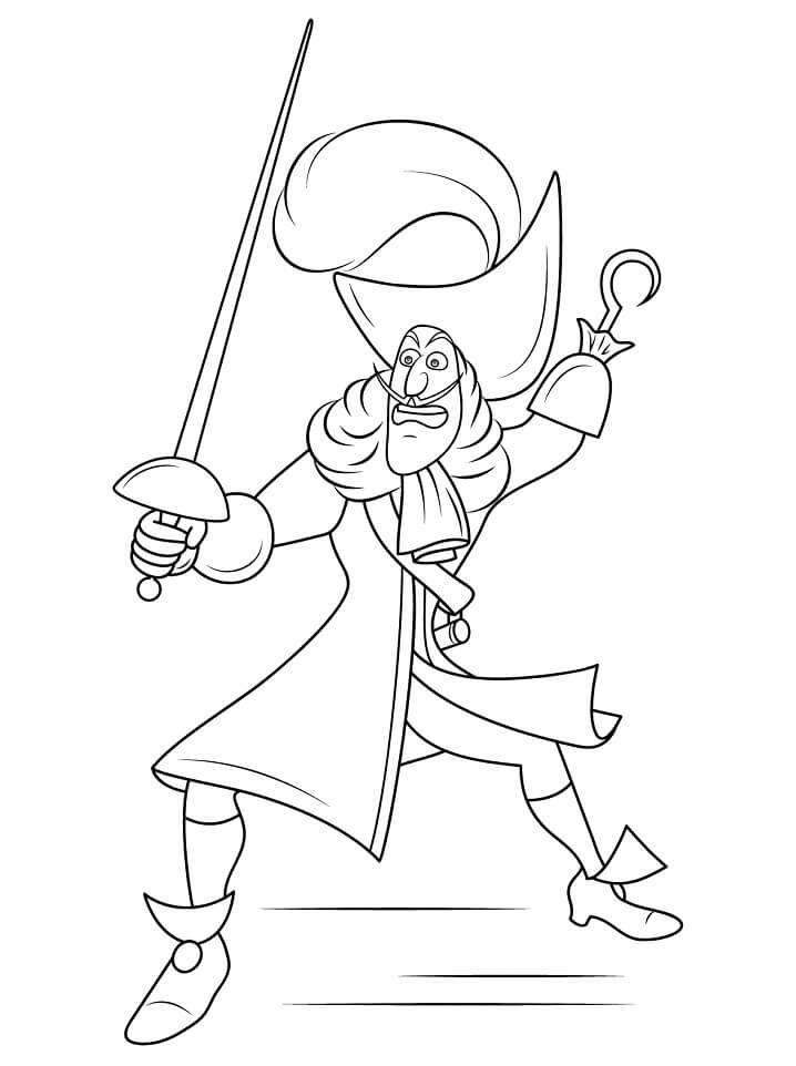 Captain Hook Disney Villain