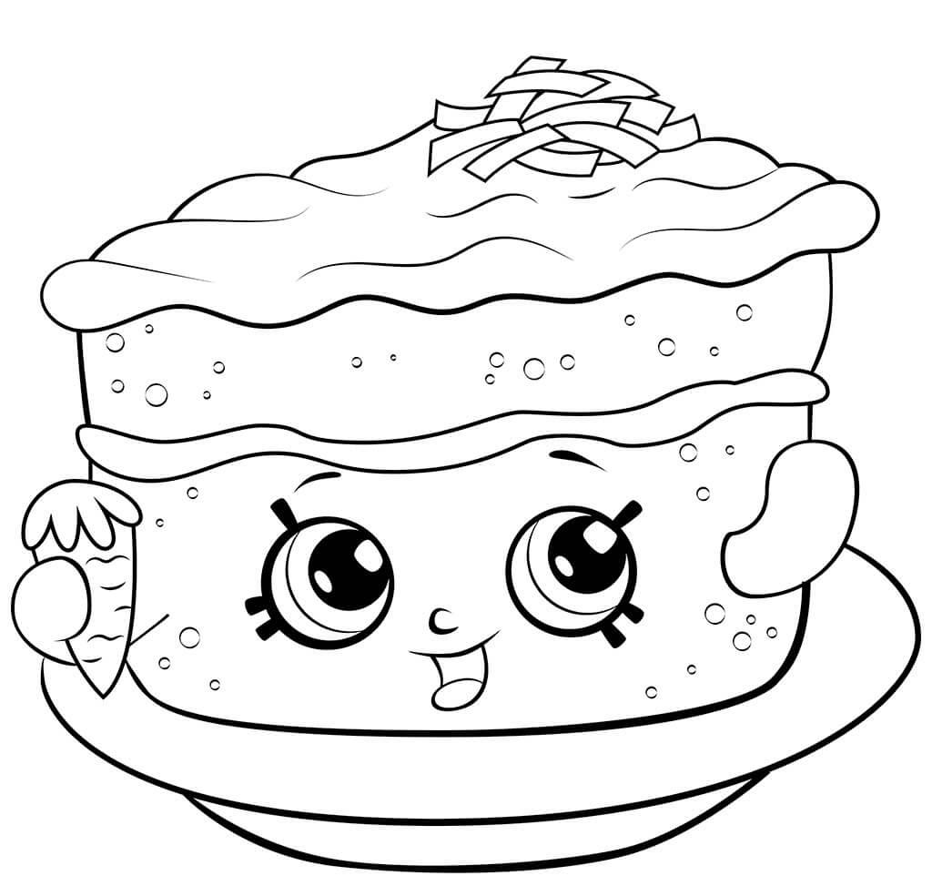 Carrot Cake Shopkin