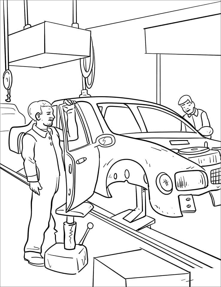 Cars Mechanic