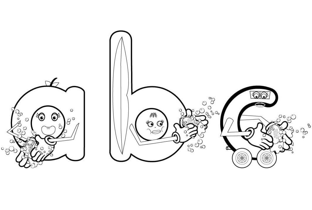 Cartoon ABC