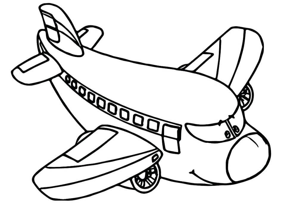 Cartoon Aeroplane