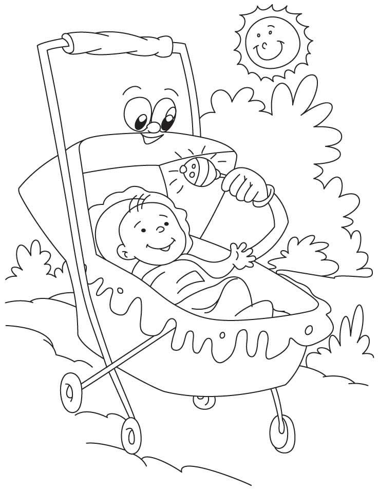 Cartoon Stroller