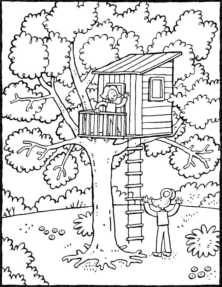 Cartoon Treehouse
