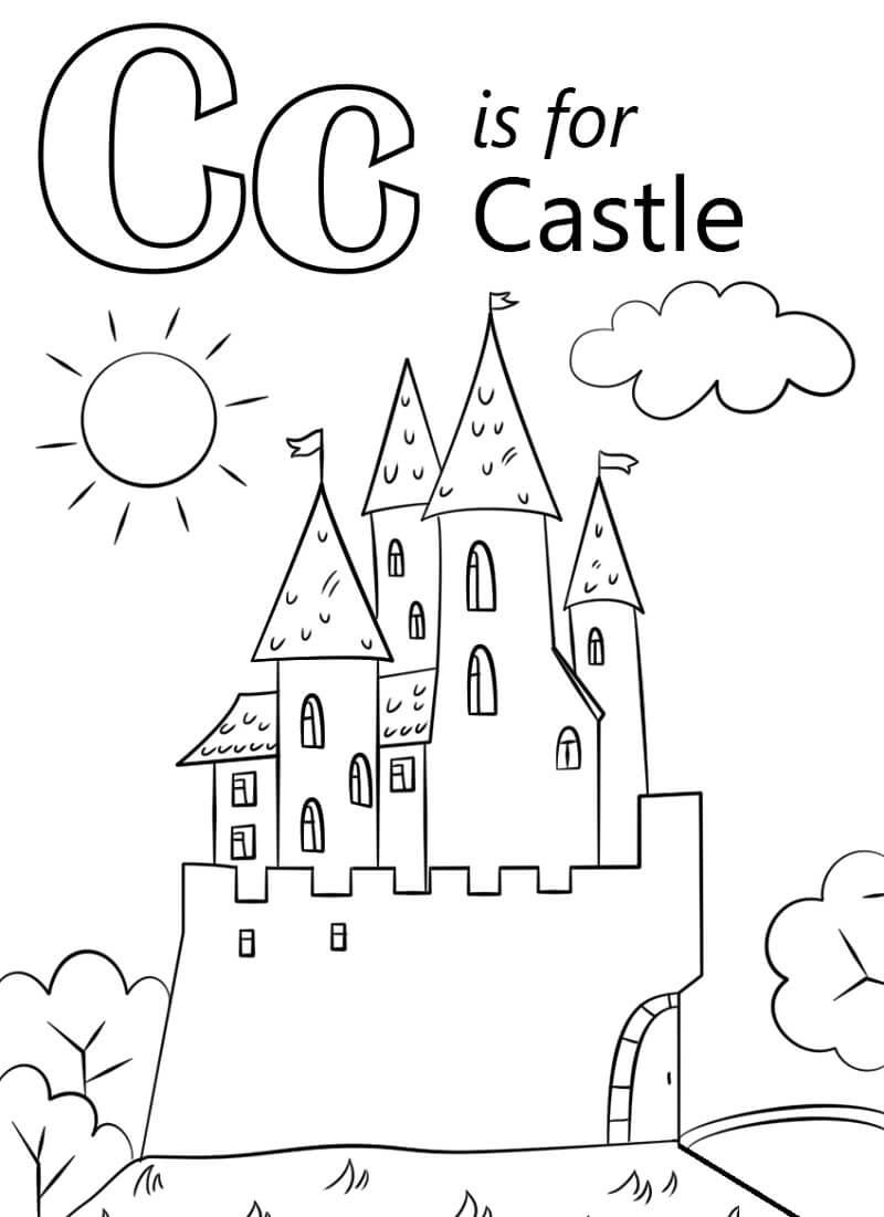 Castle Letter C