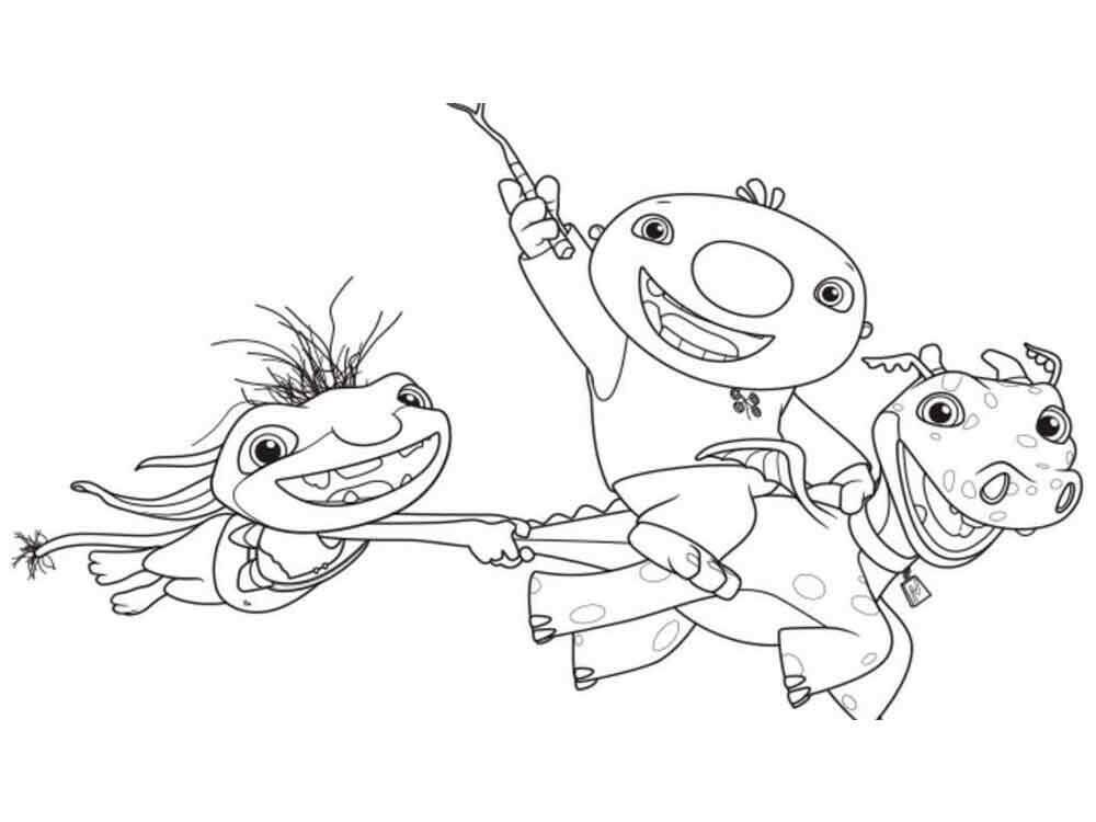 Characters from Wallykazam 1