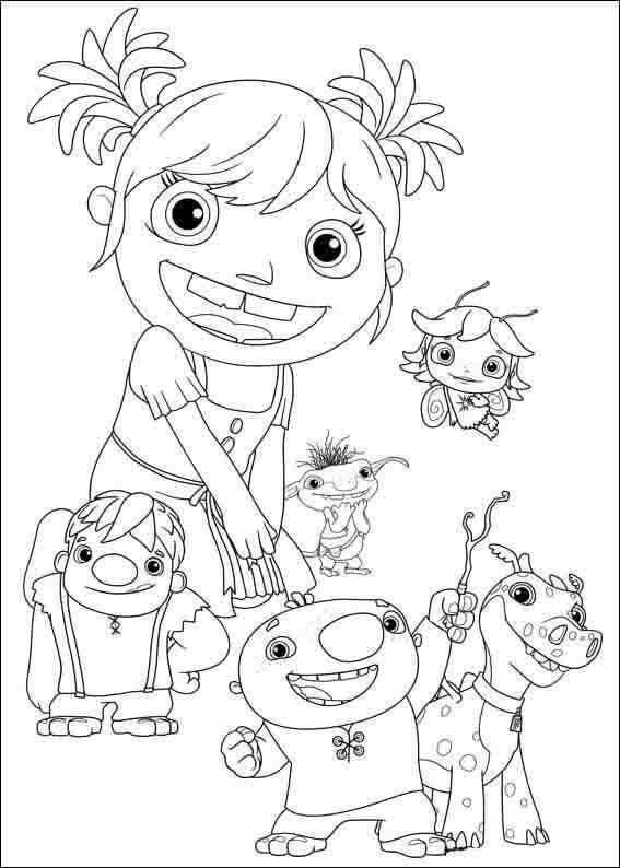 Characters from Wallykazam