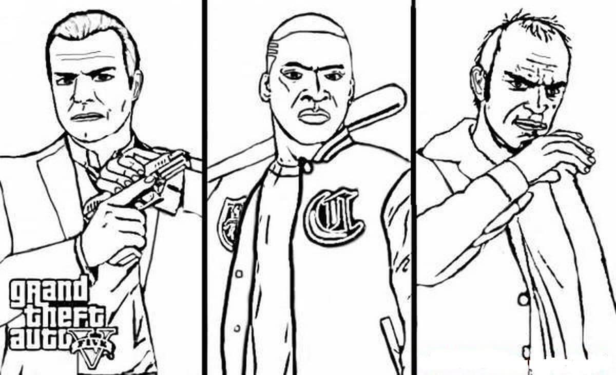 Characters in GTA 5