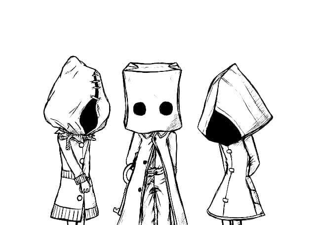 Characters in Little Nightmares