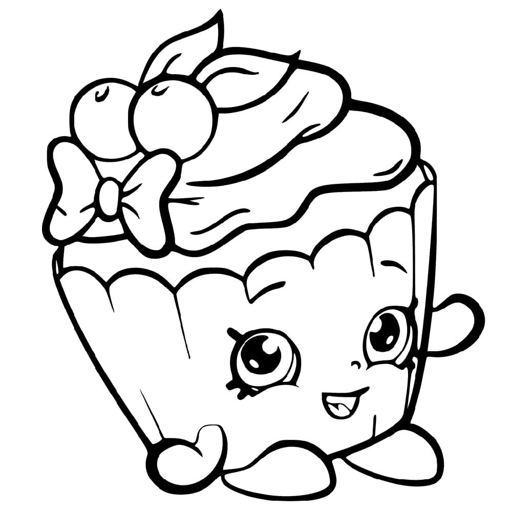 Cherry Nice Cupcake Shopkin