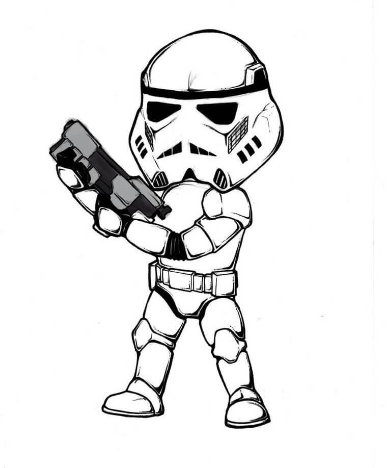 Chibi Stormtrooper