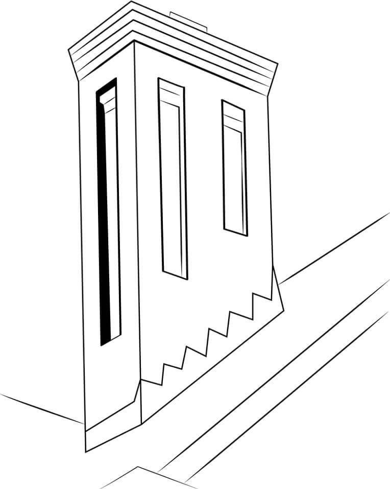 Chimney Button Brick