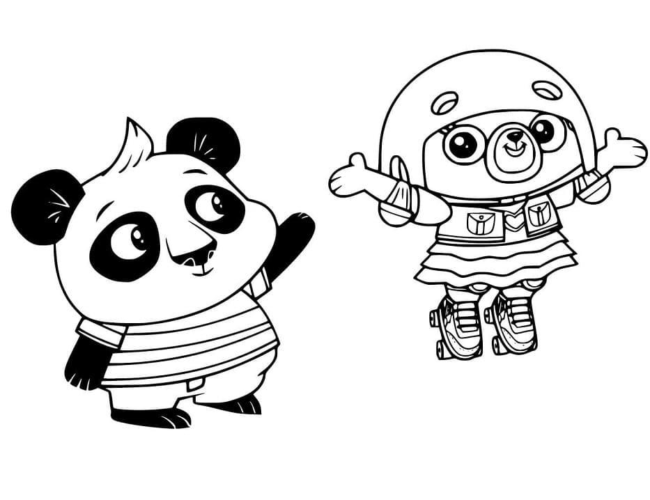 Chip and Nico Panda