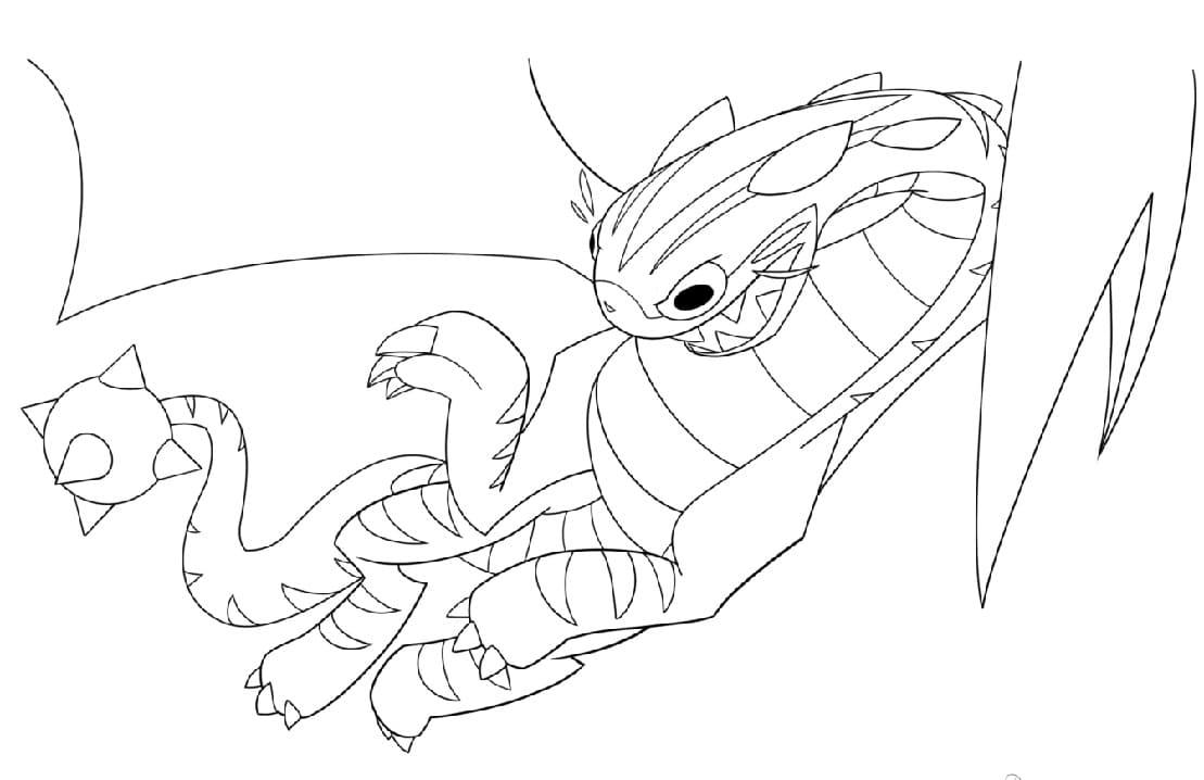 Chomp Kitty Dragon Glitch Techs