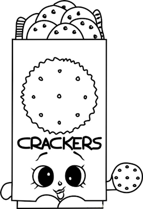Chris P Crackers Shopkins