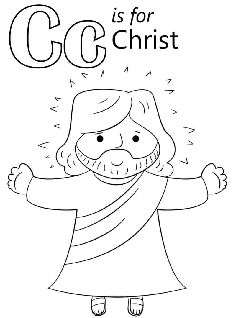 Christ Letter C