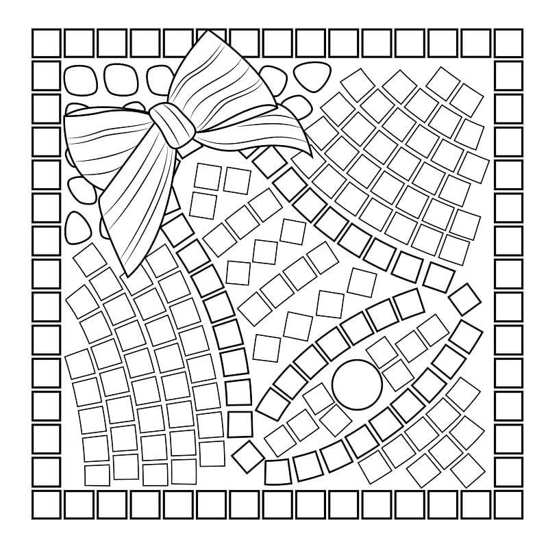 Christmas Bell Mosaic