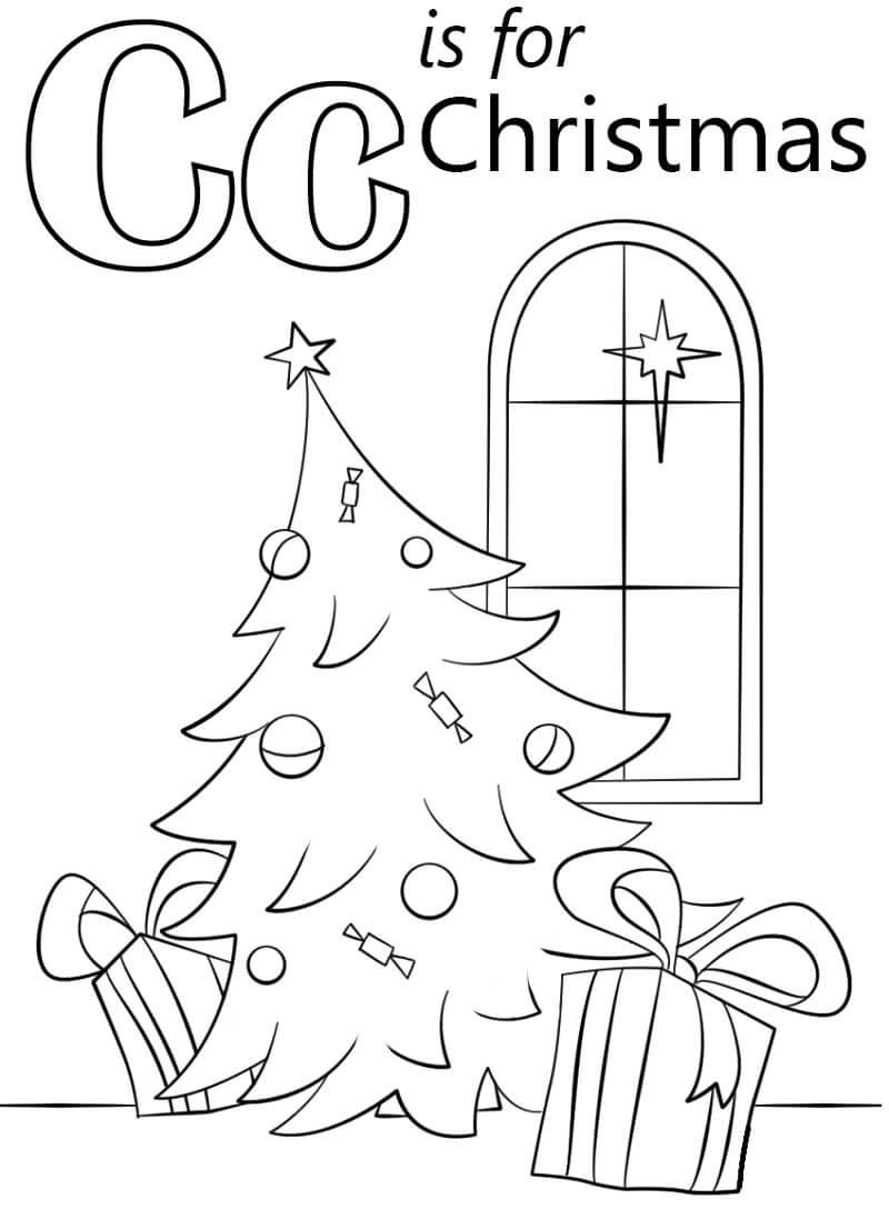 Christmas Letter C
