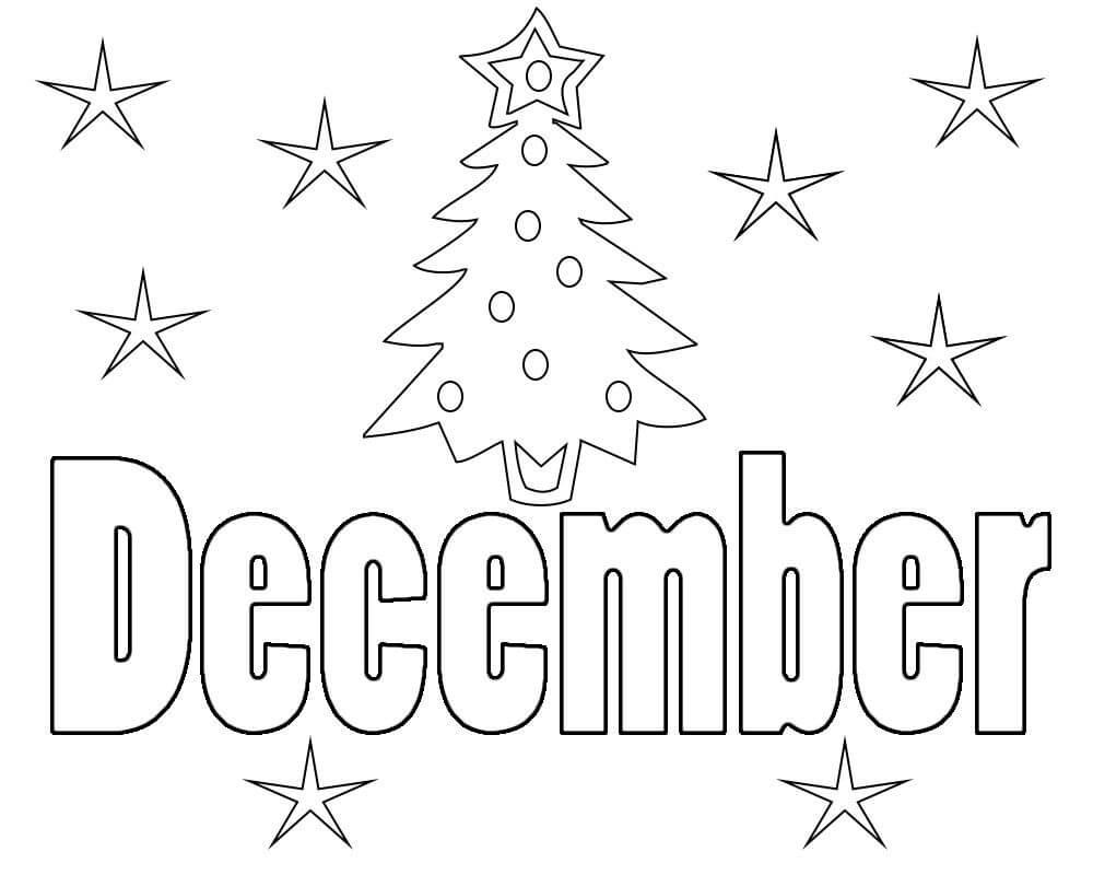 Christmas Tree for December