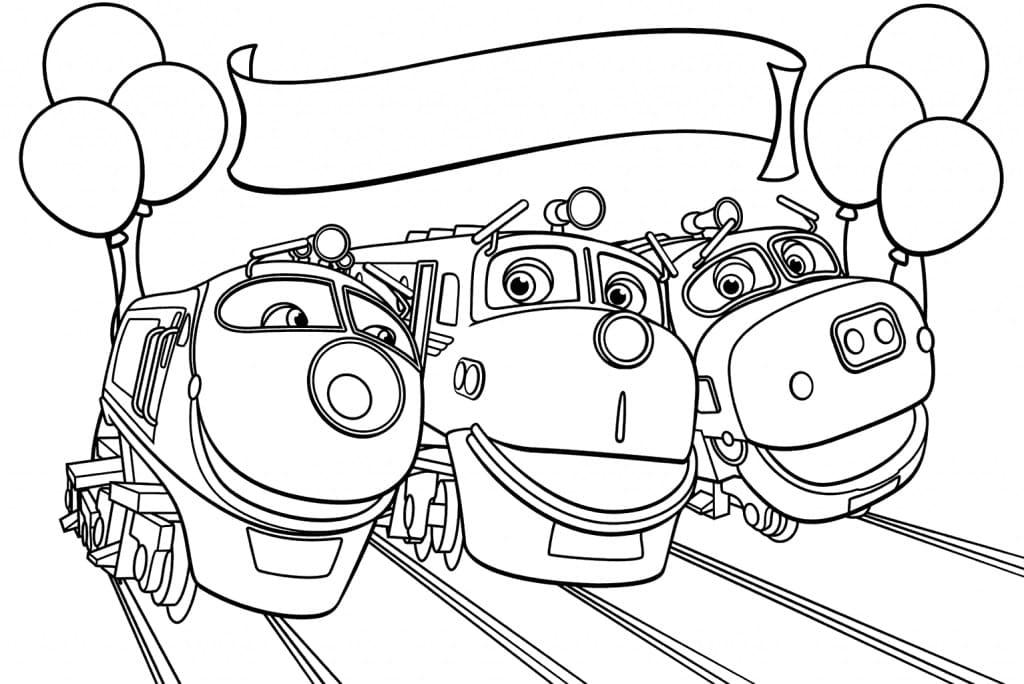 Chuggington Characters