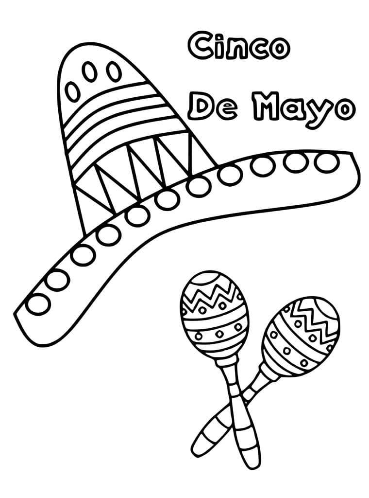 Cinco de Mayo Sombrero 1