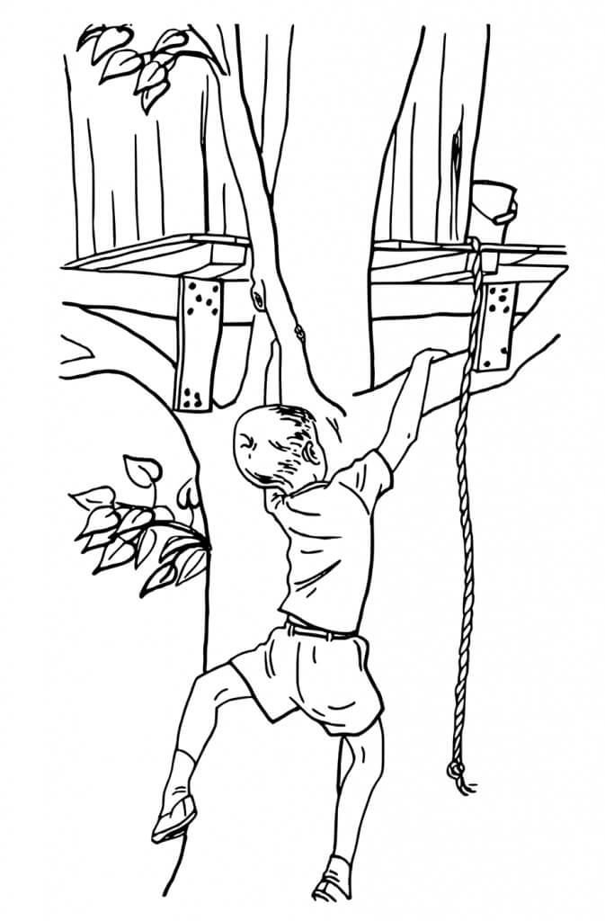 Climbing Treehouse
