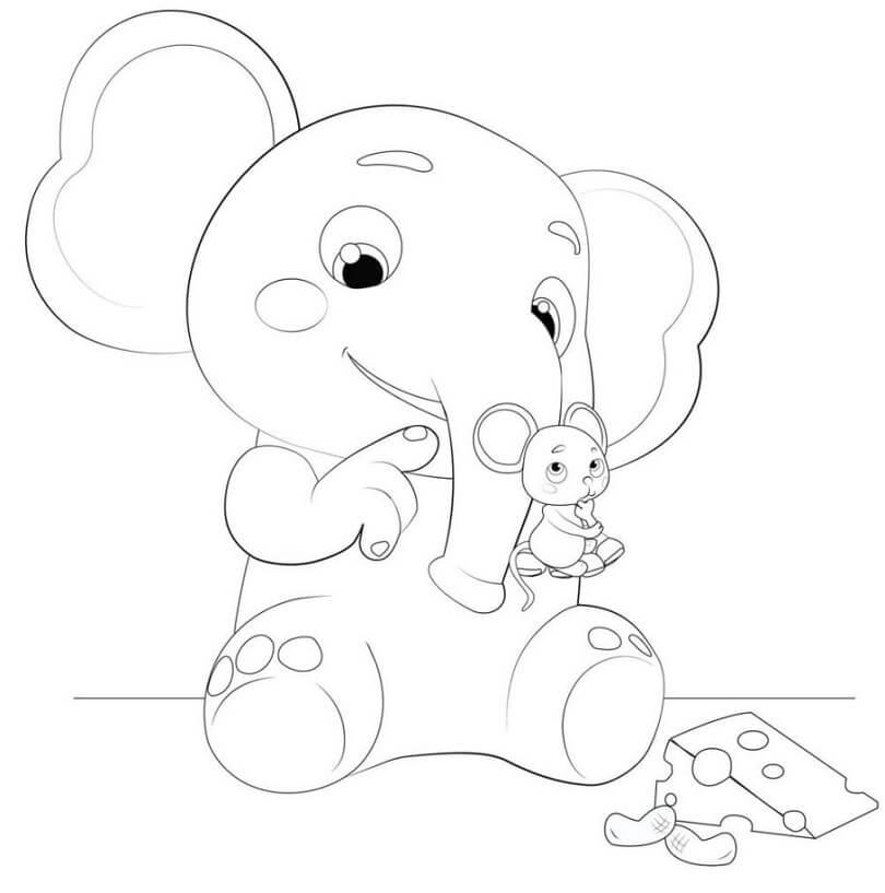 Cocomelon Elephant