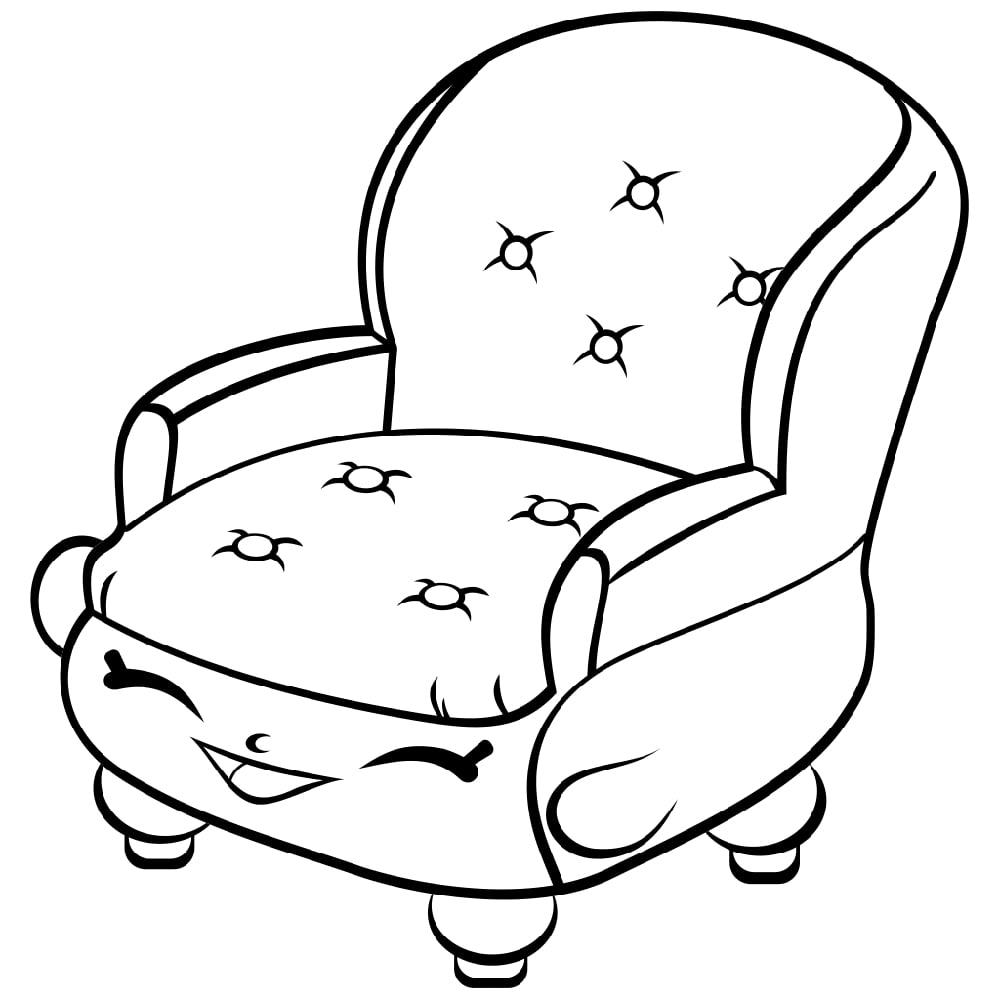 Comfy Chair Shopkin