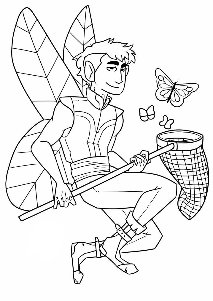 Cool Fairy Boy
