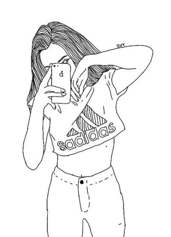 Cool Girl Selfies