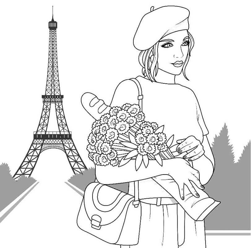 Cool Girl in Paris