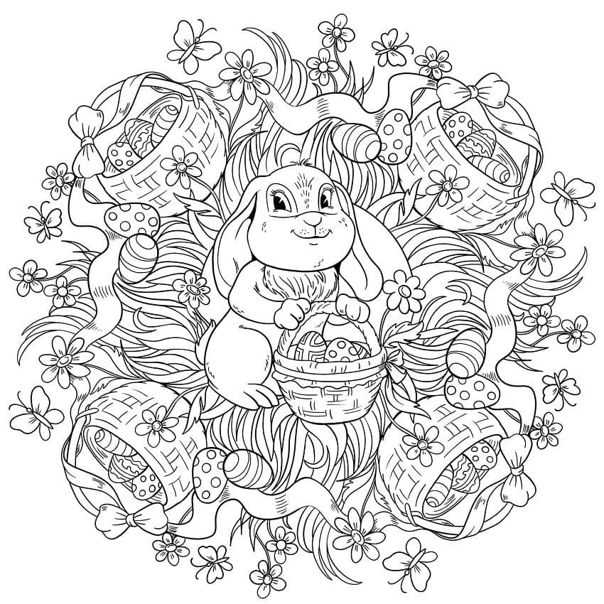 Cool Mandala Easter