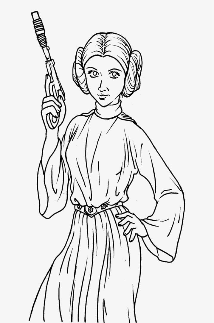 Cool Princess Leia