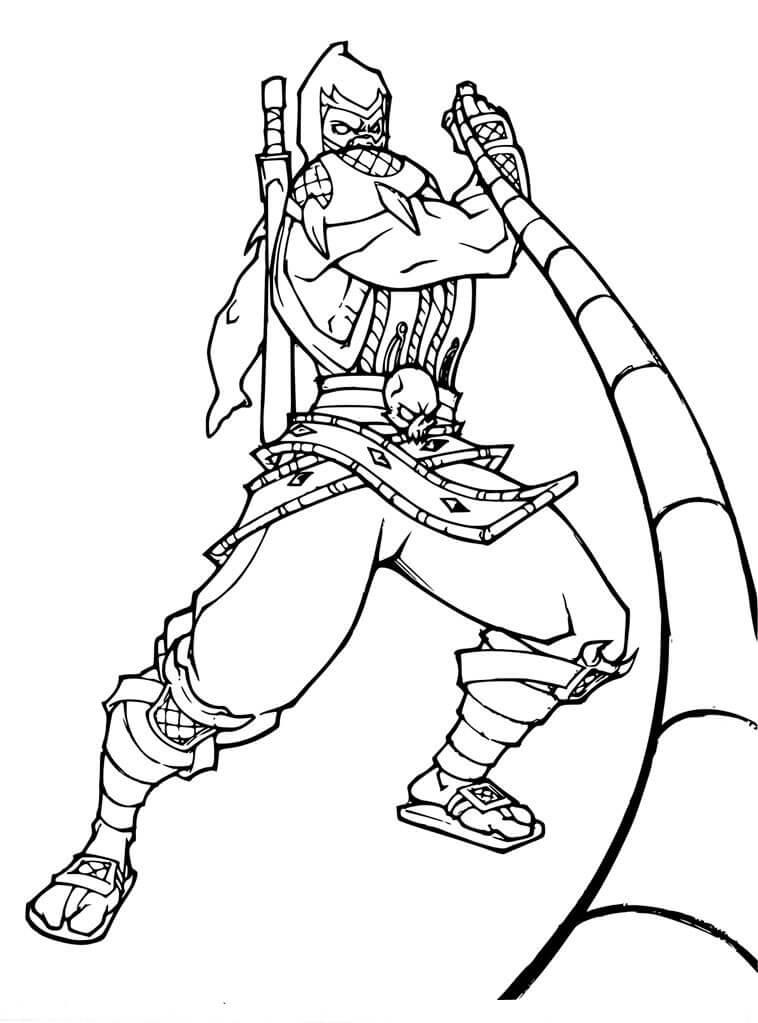 Cool Scorpion Mortal Kombat